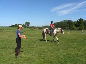 Anne coaching